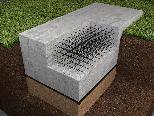 Фото - Фундамент для дома из пеноблоков