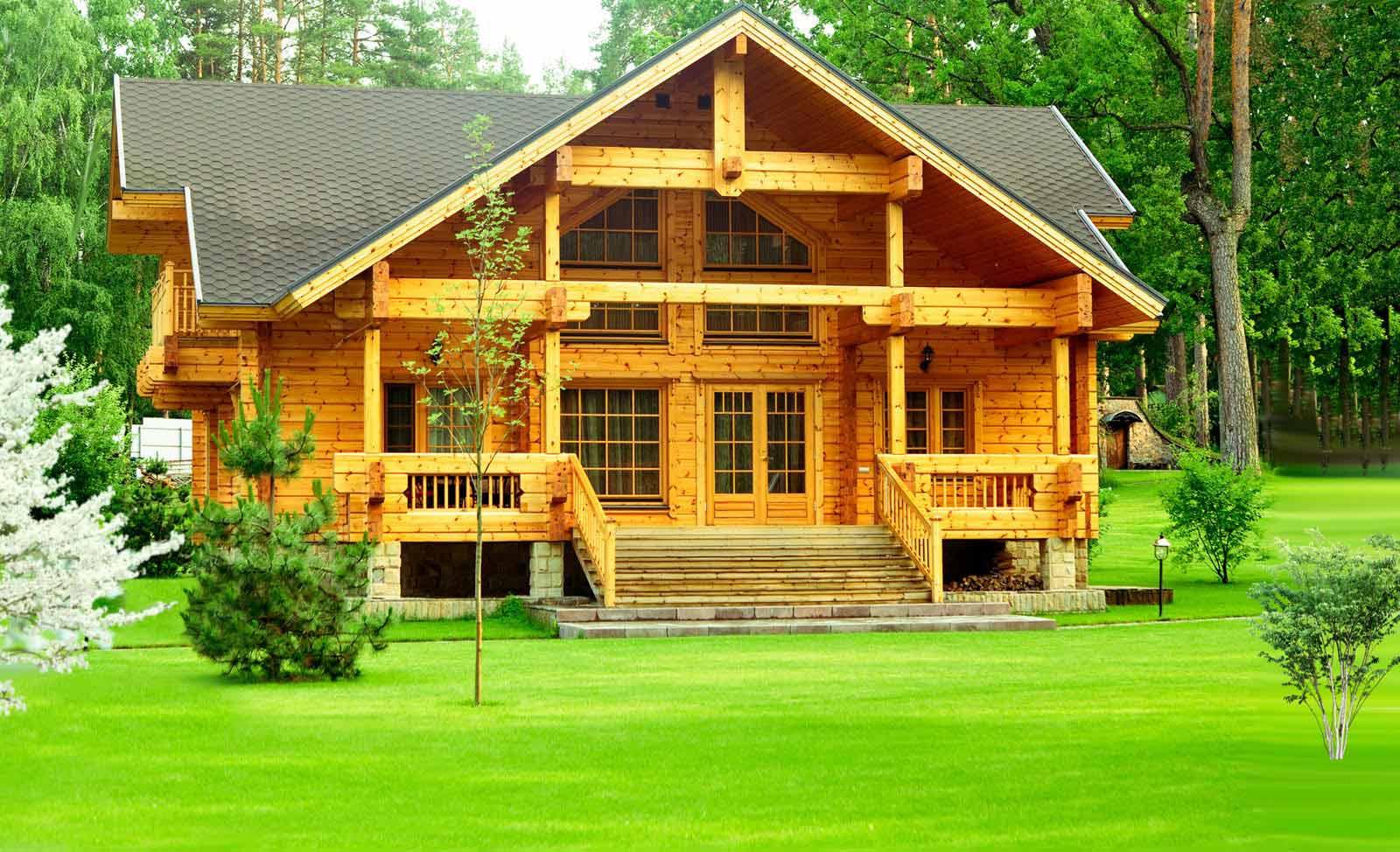 Фото - Преимущества деревянных домов